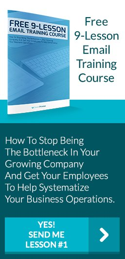 Stop being the bottleneck in your company
