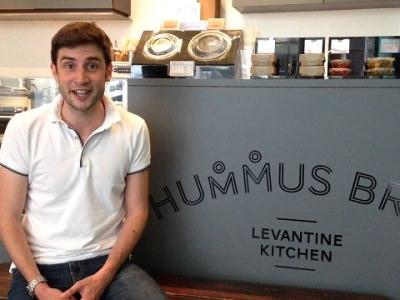 Christian Mouysset the cofounder of Hummus Bros