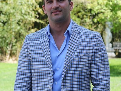 Gabe DaSilva, the founder of My First Restaurant