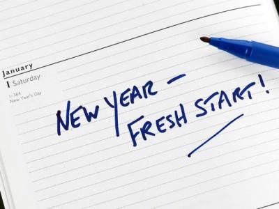 business new years resolution fresh start