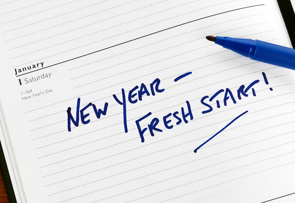 business new years resolution fresh start