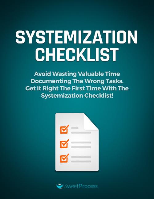 Systemization Checklist
