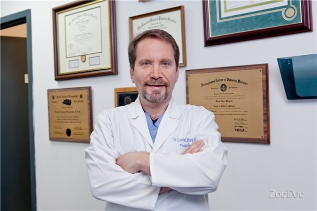 Dr. Daniel Margolin the CEO of New Jersey Foot & Ankle Center