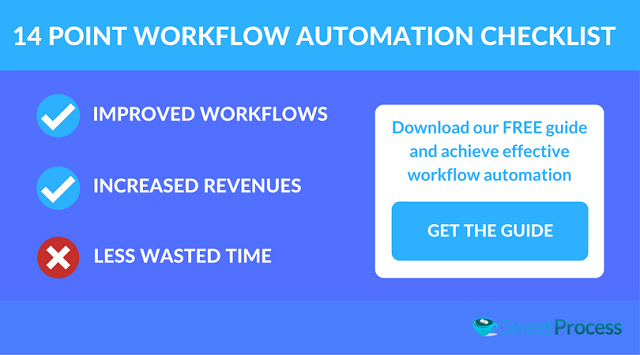 Download the 14 point Workflow Automation Checklist