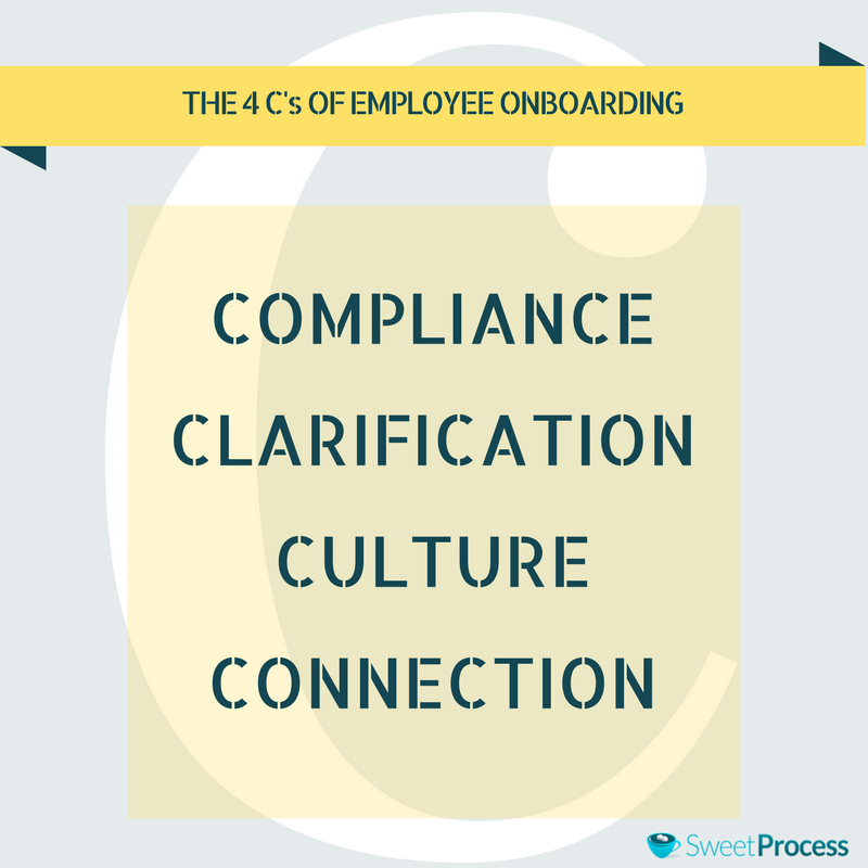 The 4 C's of Employee Onboarding