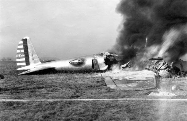 The Model 299 Crash