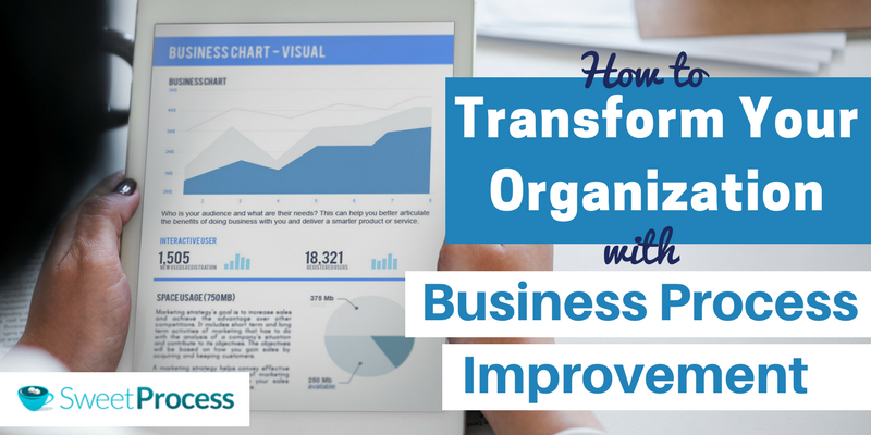 How to Transform Your Organization with Business Process Improvement.