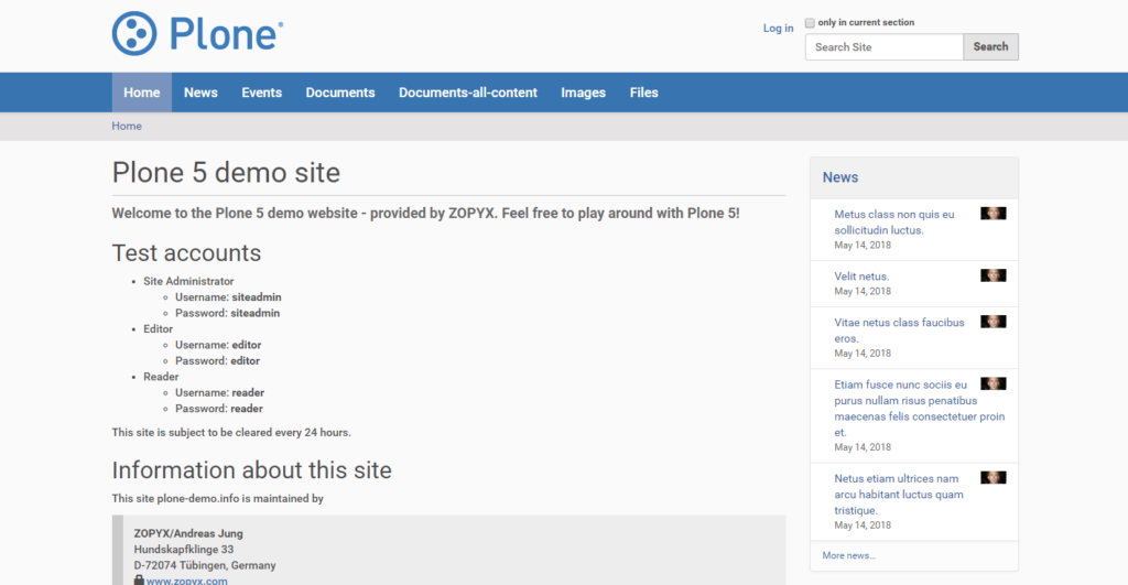 Plone one of the 50 Top SharePoint Alternatives