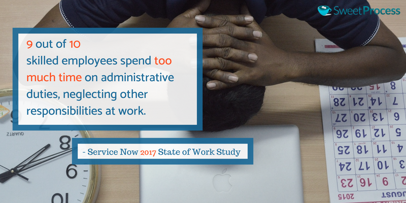 Workflow Automation can drastically reduce the time employees spend on administrative duties.
