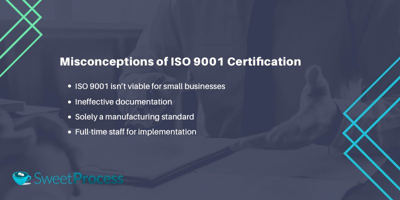 Misconceptions of ISO 9001 Certification