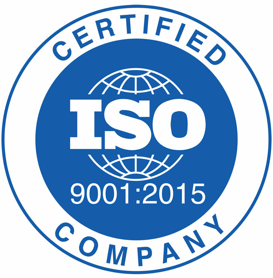 Authorization for ISO 9001 Certification