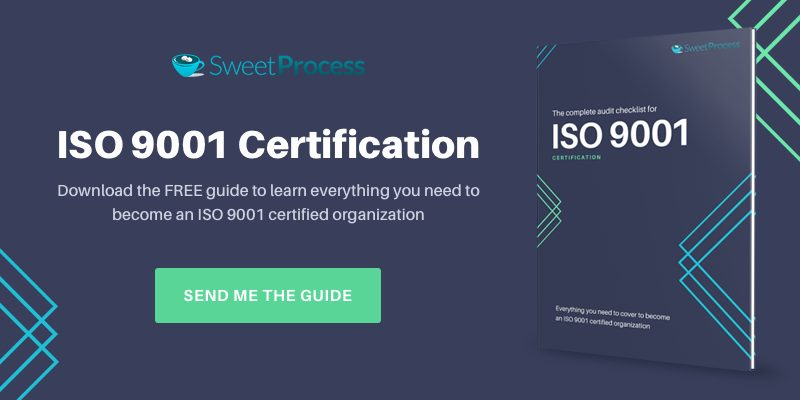 Download the Internal Audit Checklist for ISO 9001 certification