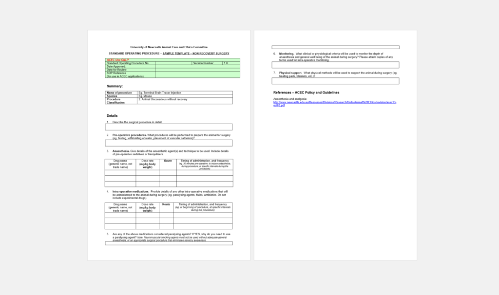Do You Need a Standard Operating Procedure Template? Here