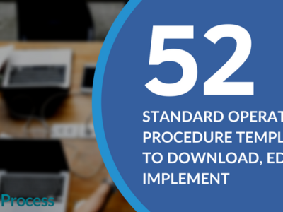 Do You Need a Standard Operating Procedure Template? Here Are Over 50 Templates to Choose From!